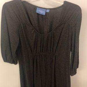 Grey Vera wang dress sz large